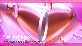 PowerPoint Template - Heart Background